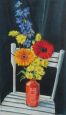 Flowers with Chair